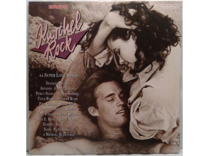 3LP Various - Kuschel Rock - 44 Super Love Songs, 1987