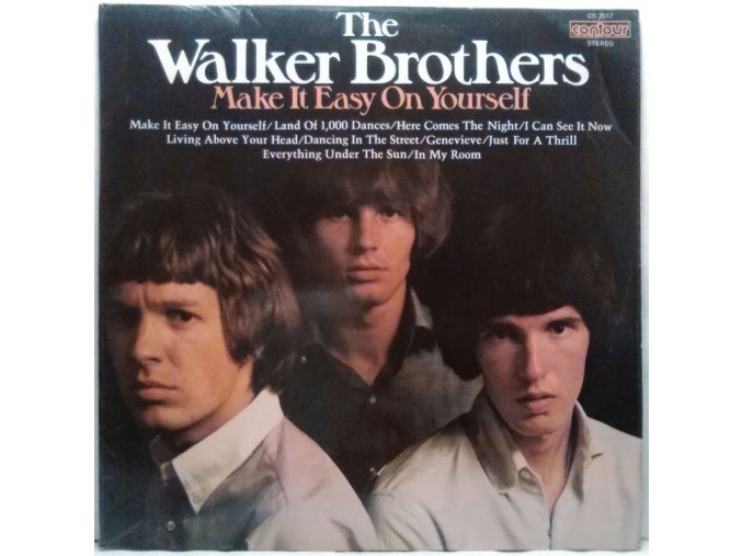 LP The Walker Brothers – Make It Easy On Yourself, 1976