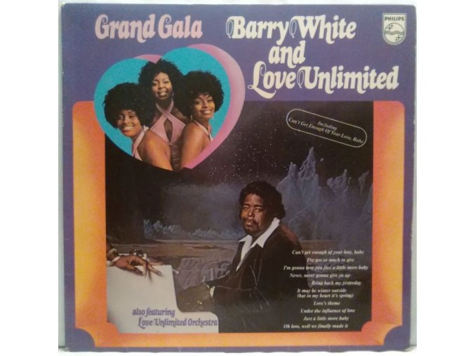 LP Barry White And Love Unlimited – Grand Gala, 1973