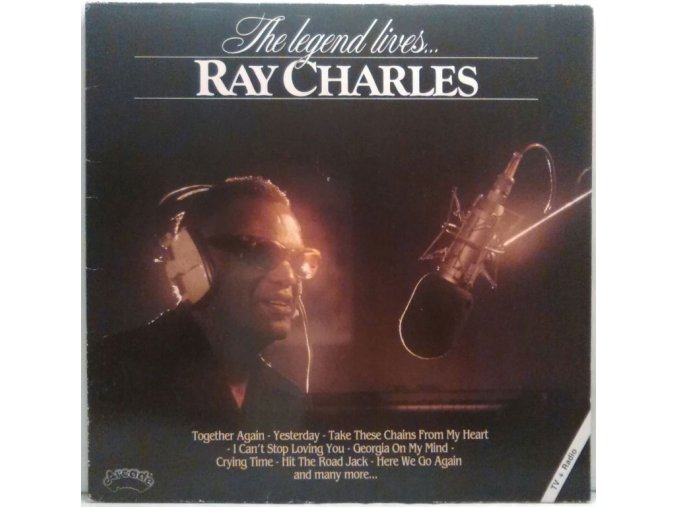 LP Ray Charles - The Legend Lives...