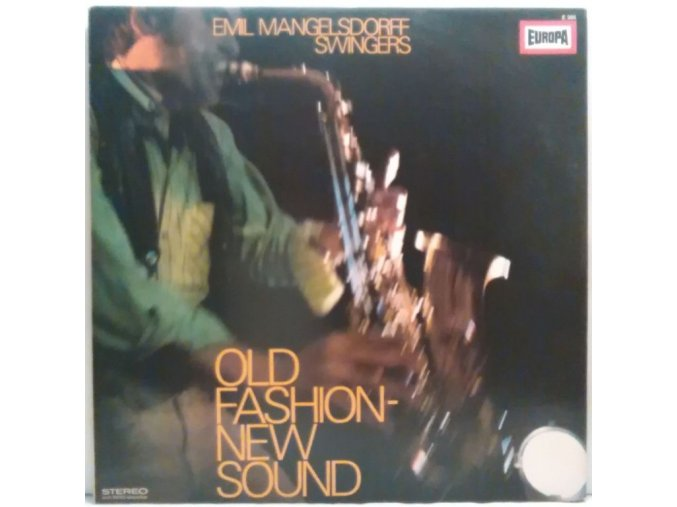 LP Emil Mangelsdorff Swingers - Old Fashion New Sound, 1969