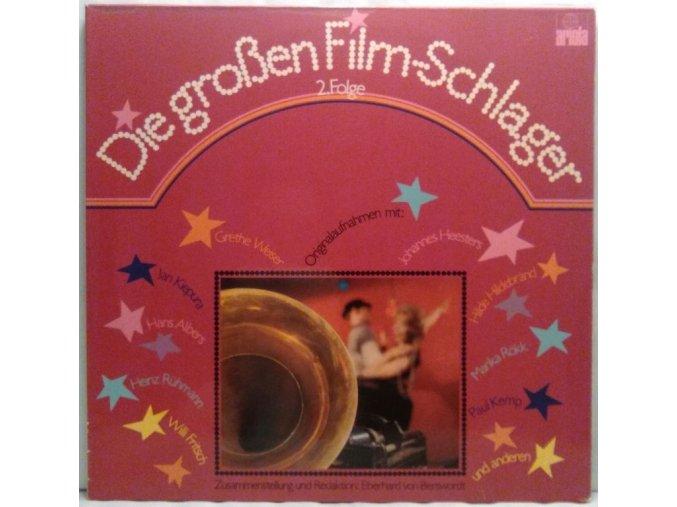 2LP Various – Die Großen Film-Schlager 2. Folge