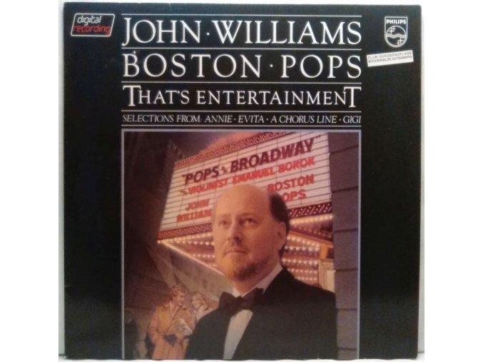 LP John Williams - Boston Pops – That's Entertainment / Pops On Broadway, 1981