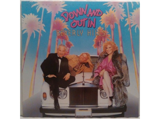 LP Various ‎– Down And Out In Beverly Hills - Original Motion Picture Soundtrack, 1986