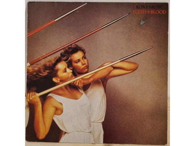 LP Roxy Music - Flesh And Blood, 1980