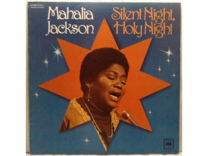 LP Mahalia Jackson - Silent Night, Holy Night