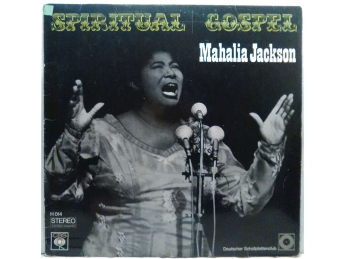 LP Mahalia Jackson - Spiritual And Gospel, 1969