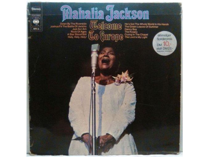 LP Mahalia Jackson - Welcome To Europe, 1969