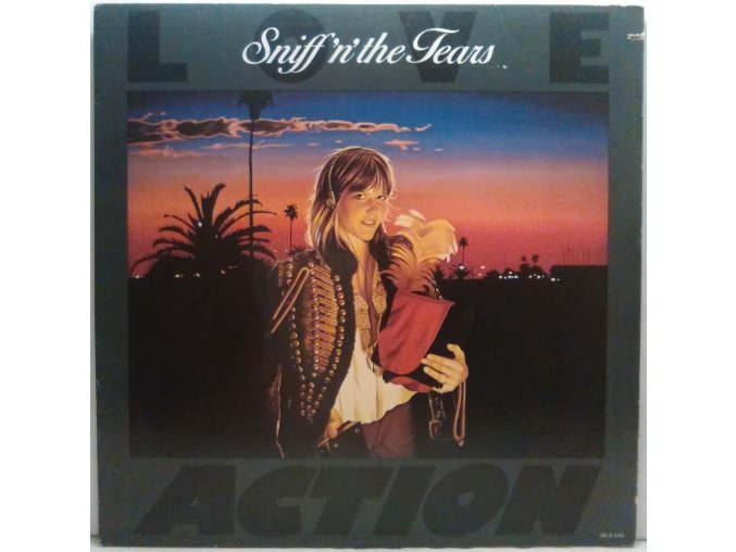 LP Sniff 'n' The Tears - Love Action, 1981