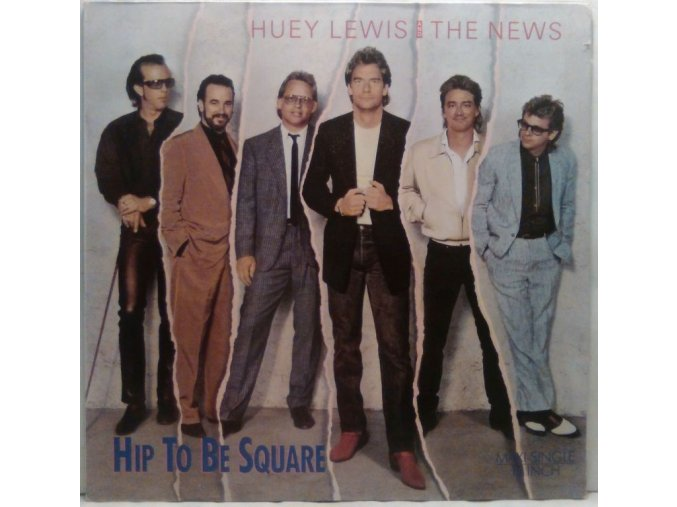 Huey Lewis And The News - Hip To Be Square, 1986