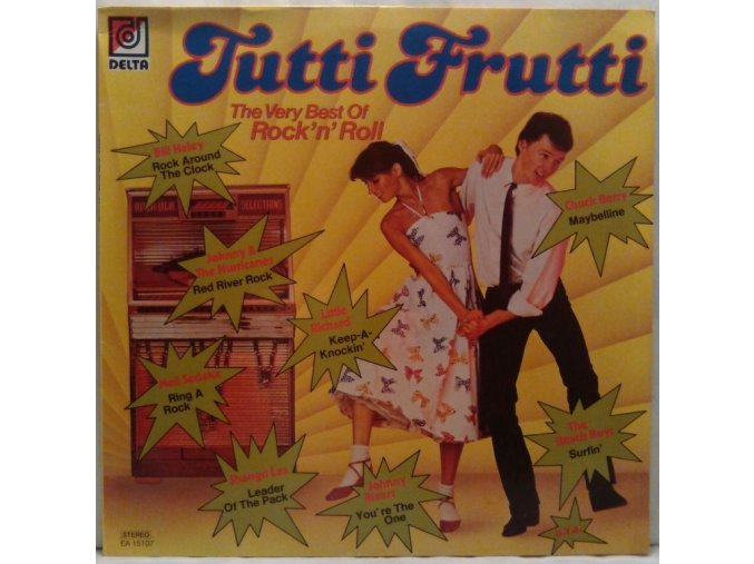LP Various – Tutti Frutti - The Very Best Of Rock'n' Roll