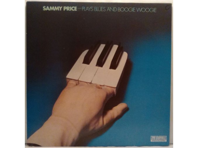 LP Sammy Price - Plays Blues And Boogie Woogie, 1979