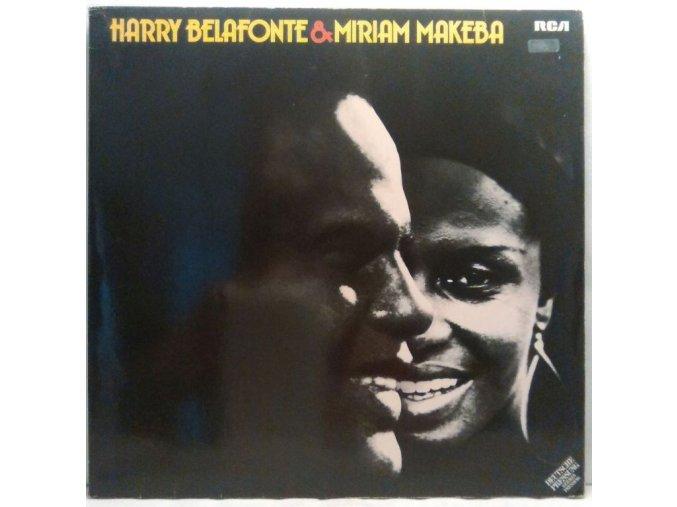 2LP Harry Belafonte & Miriam Makeba – Harry Belafonte & Miriam Makeba, 1975