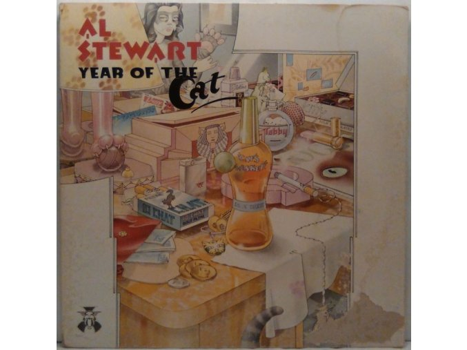 LP Al Stewart Year Of The Cat, 1976