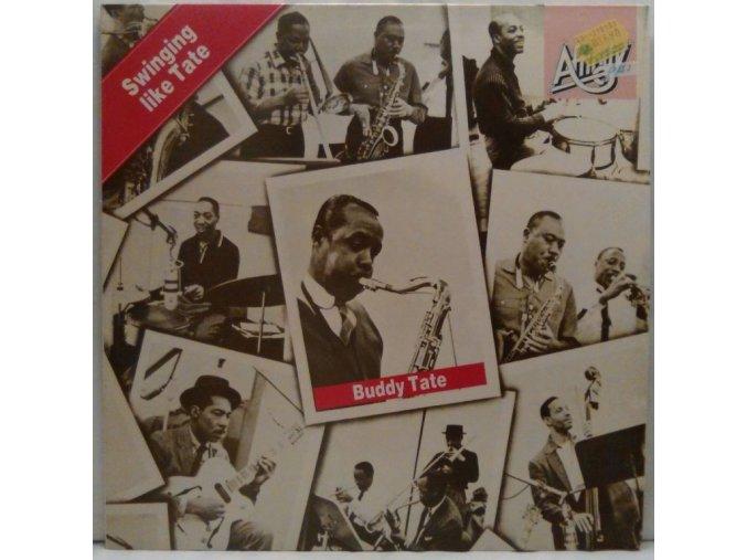 LP Buddy Tate - Swinging Like Tate, 1986