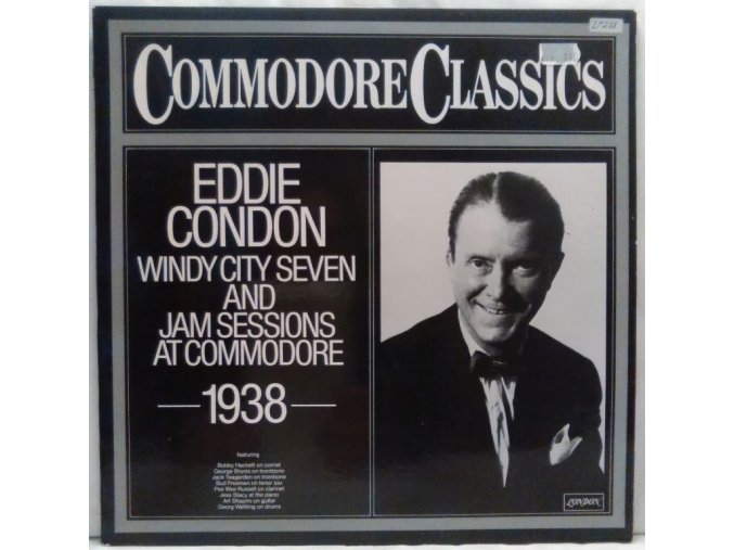 LP Eddie Condon And His Windy City Seven – Jam Sessions At Commodore 1938, 1979