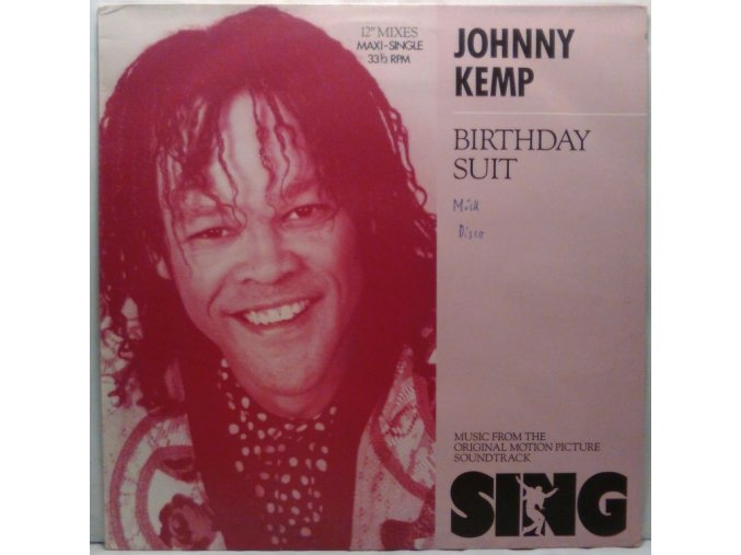 Johnny Kemp - Birthday Suit, 1989