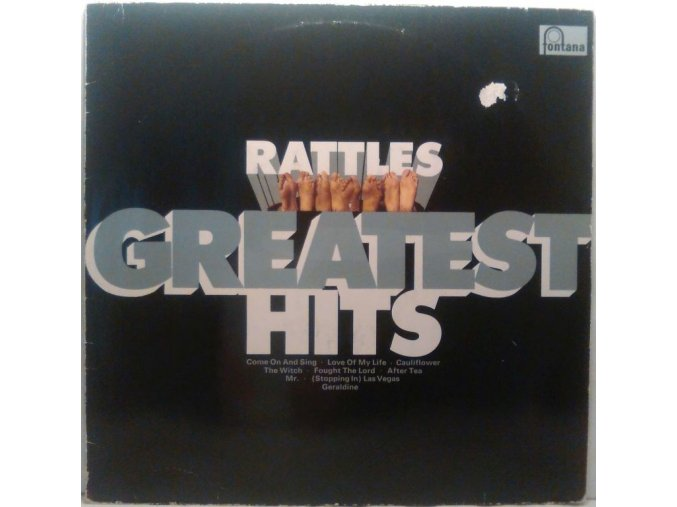 LP The Rattles - Rattles' Greatest Hits, 1970
