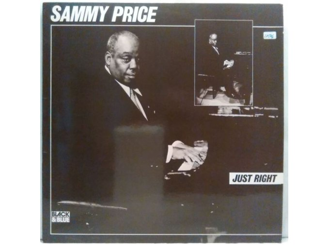 LP  Sammy Price - Just Right, 1977