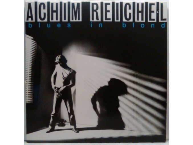 LP Achim Reichel - Blues In Blond, 1981