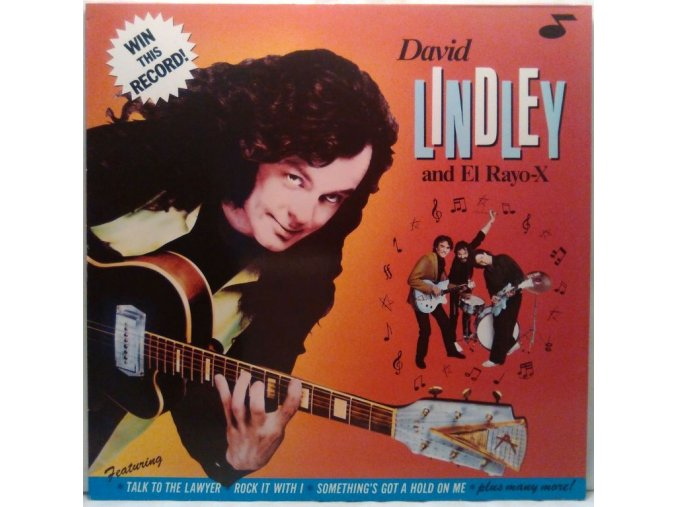 LP David Lindley And El Rayo-X ‎– Win This Record! 1982
