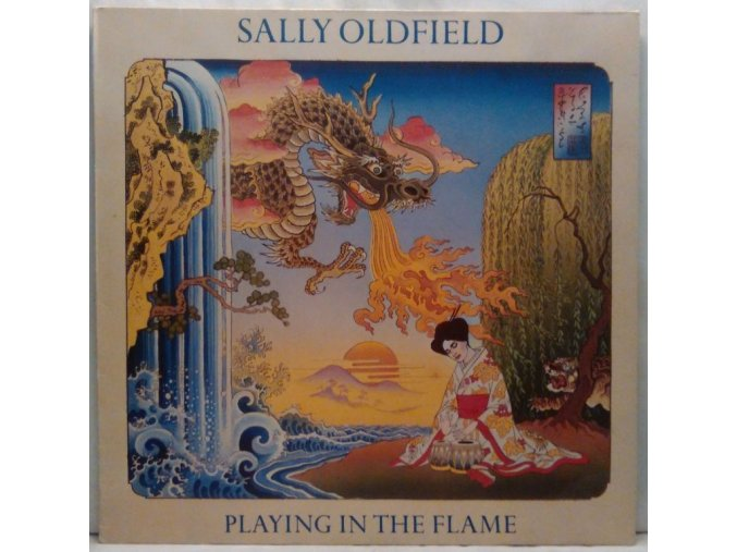 LP  Sally Oldfield - Playing In The Flame, 1981