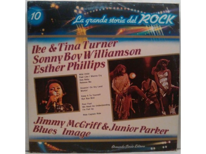 LP Various ‎– Esther Phillips / Jimmy McGriff / Little Junior Parker / Sonny Boy Williamson / Ike & Tina Turner / Blues Image, 1981