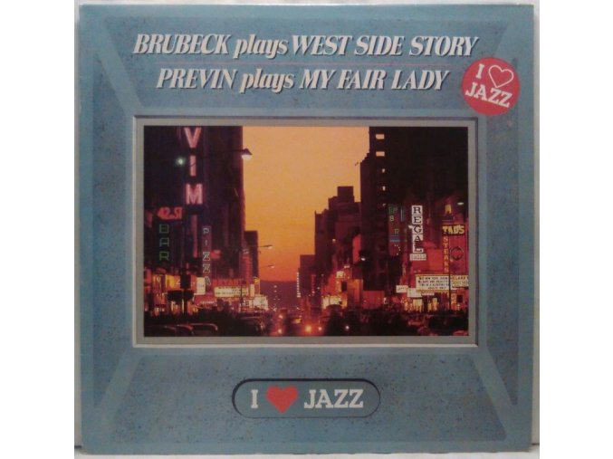 LP  Brubeck, Previn ‎– Brubeck Plays West Side Story / Previn Plays My Fair Lady, 1983