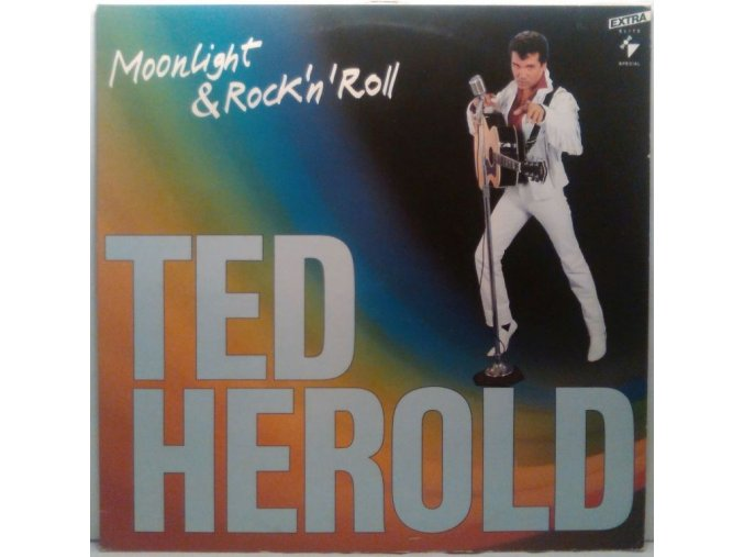 LP Ted Herold - Moonlight And Rock'n'Roll, 1988