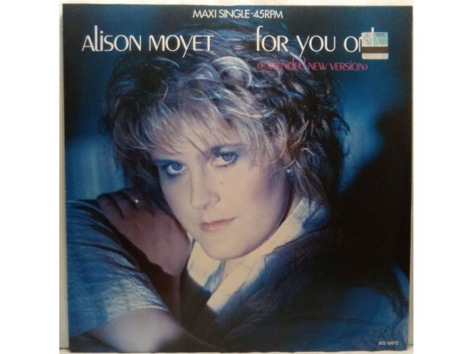 Alison Moyet – For You Only (Extended New Version) 1985