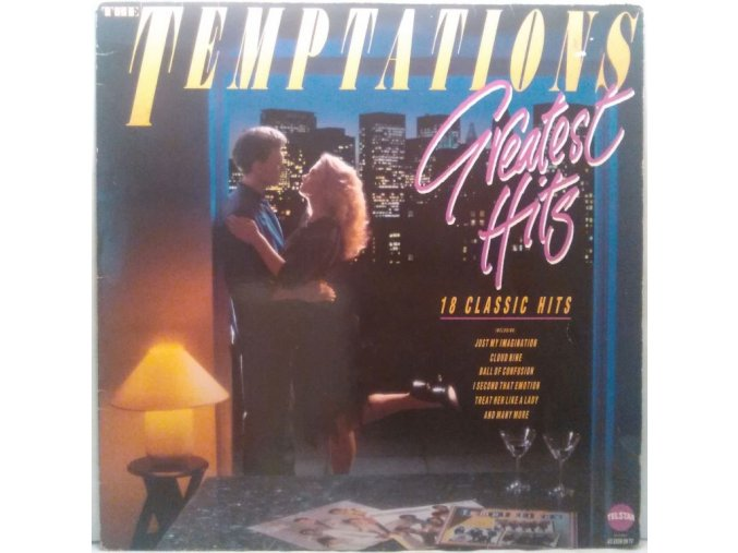 LP The Temptations - Greatest Hits, 1986