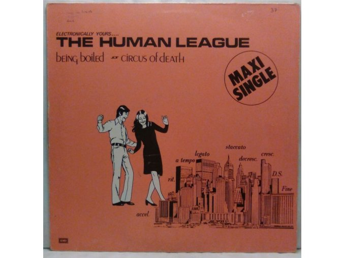 The Human League – Being Boiled / Circus Of Death, 1986
