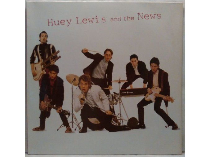 LP Huey Lewis And The News - Huey Lewis And The News, 1980