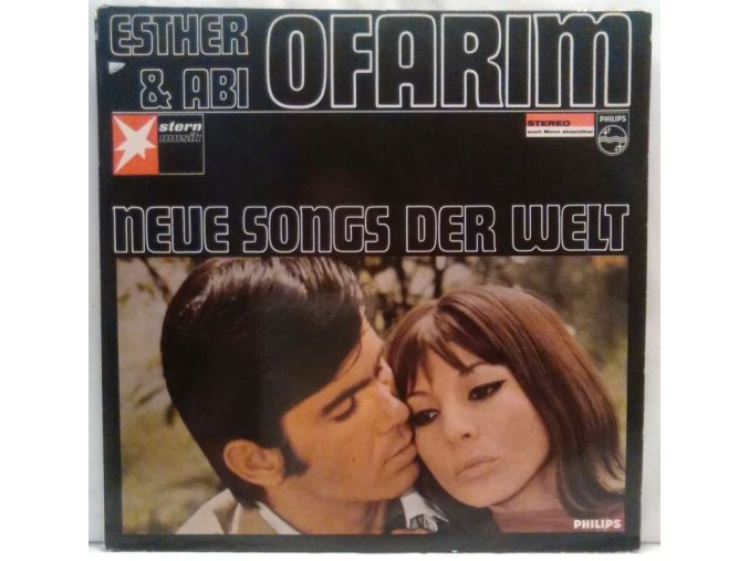 LP Esther & Abi Ofarim – Neue Songs Der Welt, 1966