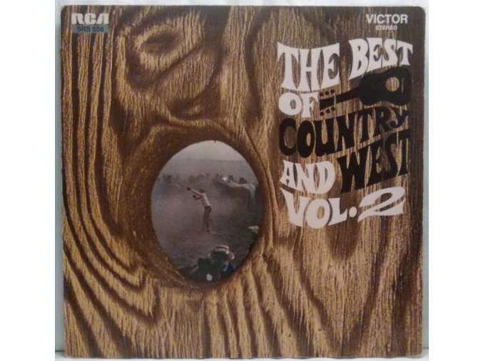 LP Various – The Best Of Country And West - Vol. 2, 1968