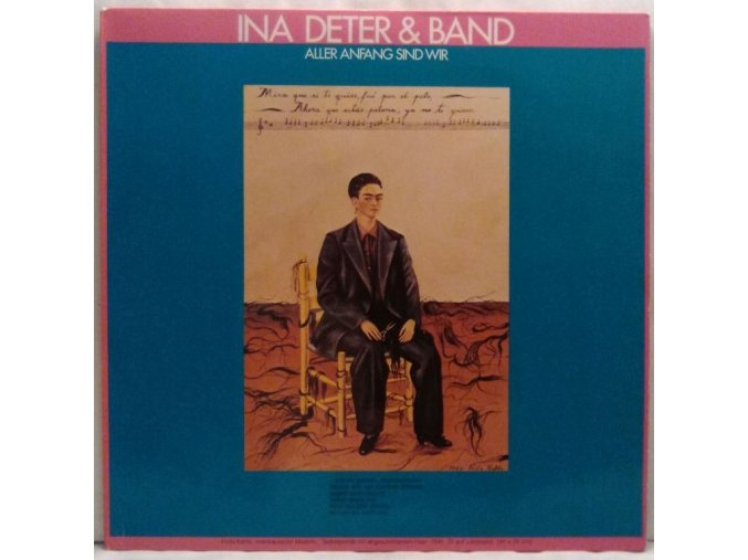 LP Ina Deter Band – Aller Anfang Sind Wir, 1981
