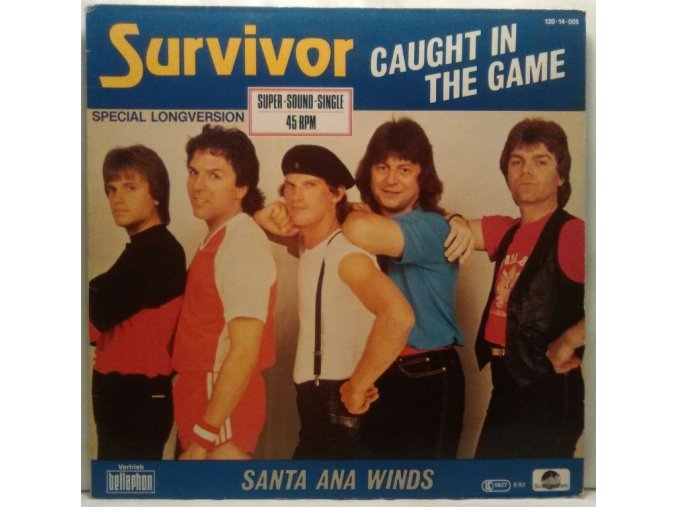 Survivor – Caught In The Game / Santa Ana Winds, 1983