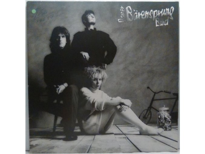 LP Rainer Bärensprung Band ‎– Rainer Bärensprung Band, 1985