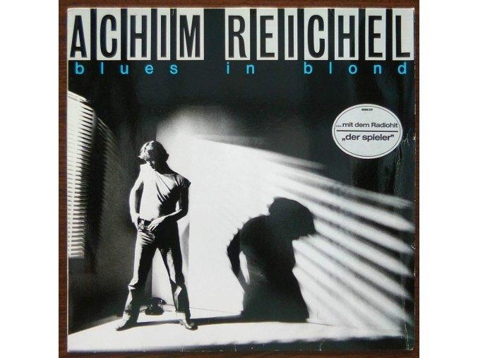 LP Achim Reichel - Blues In Blond, 1981