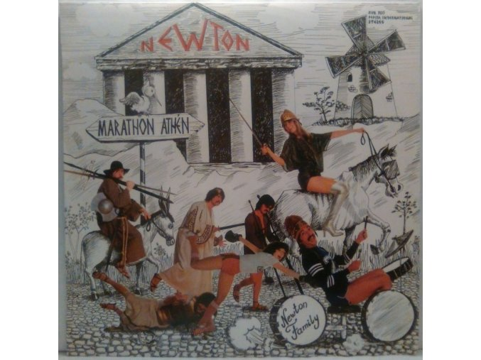 LP Newton Family - Marathon, 1981