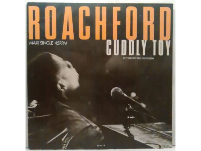 Roachford ‎– Cuddly Toy, 1988