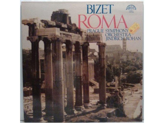 LP Georges Bizet - Roma, 1978