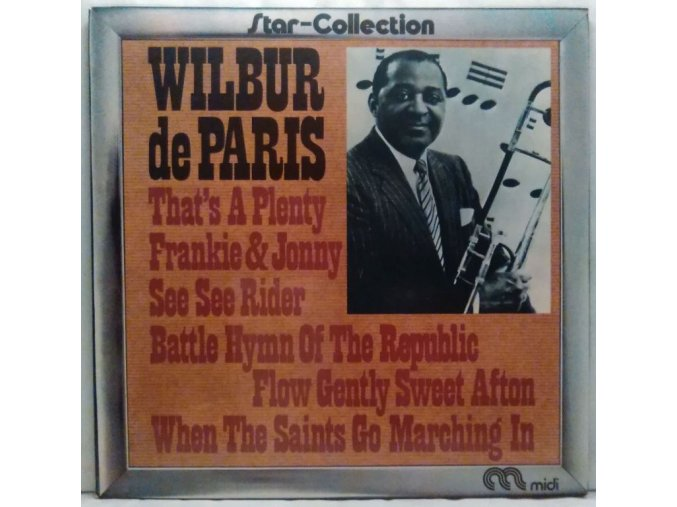 LP Wilbur De Paris ‎– Star-Collection Wilbur De Paris, 1973