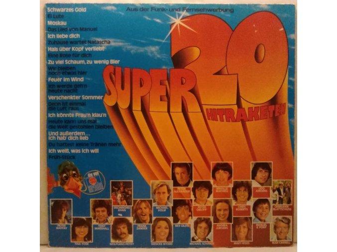 LP Various – Super 20 - Hitraketen, 1979