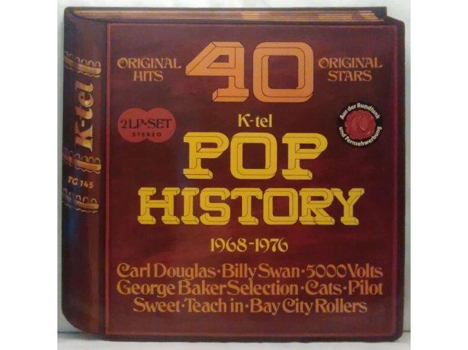 2LP Various - Pop History 1968-1976
