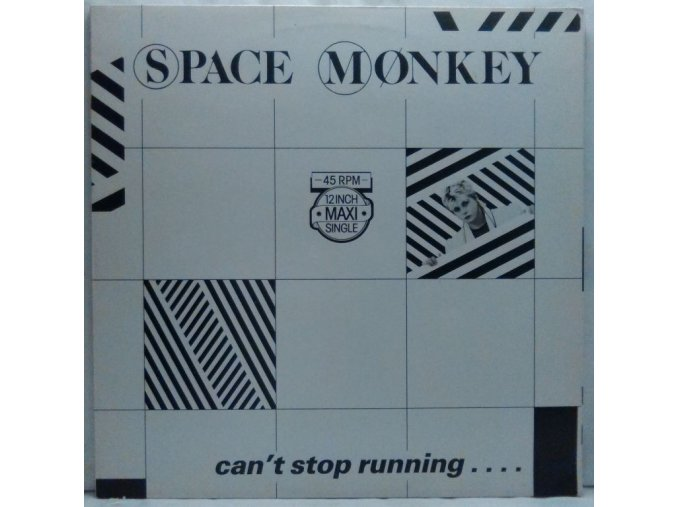 Space Monkey ‎– Can't Stop Running.... 1983