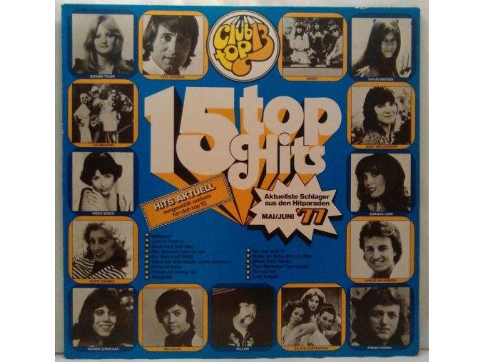 LP Various – 15 Top Hits - Mai/Juni '77