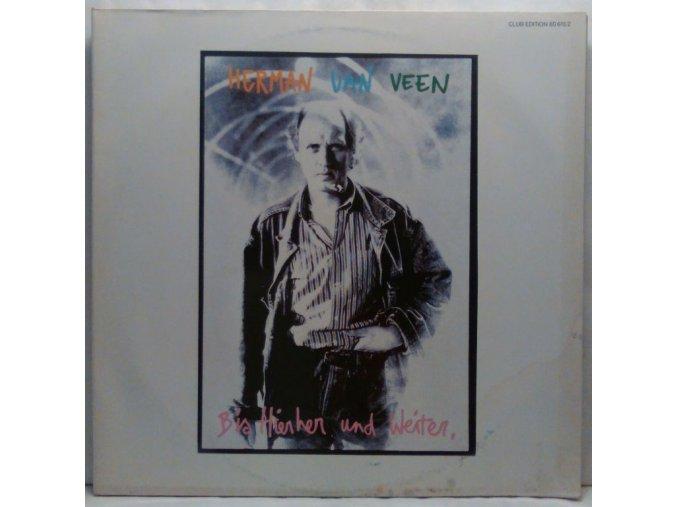 2LP Herman Van Veen - Bis Hierher Und Weiter, 1988