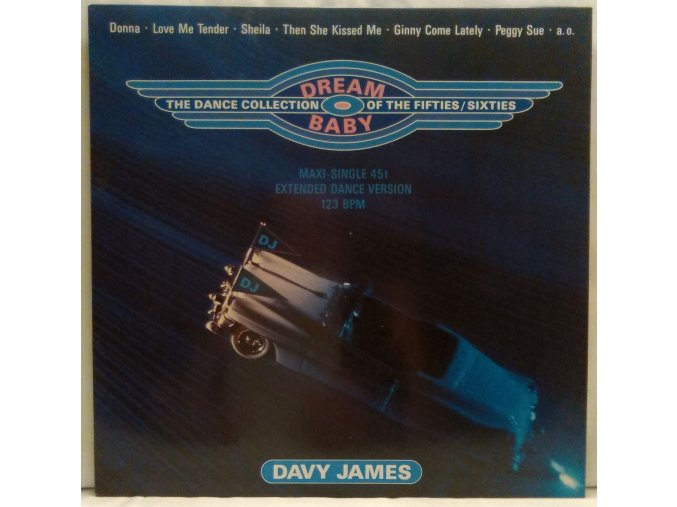 Davy James – Dream Baby (The Dance Collection Of The Fifties/Sixties)