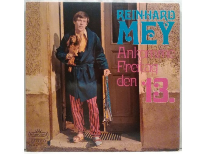 LP Reinhard Mey – Ankomme Freitag Den 13. 1968